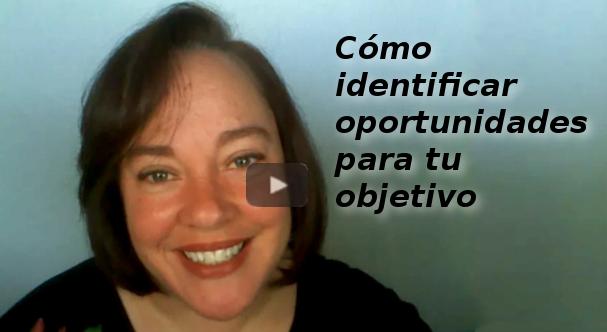 Como identificar oportunidades para tu objetivo-V